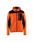 Kootud softshell jakk Blakläder 4930 oranž