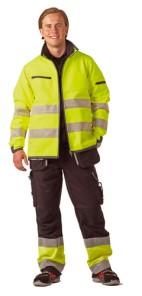 Kõrgnähtav softshell jakk helkuritega Björnkläder 9320