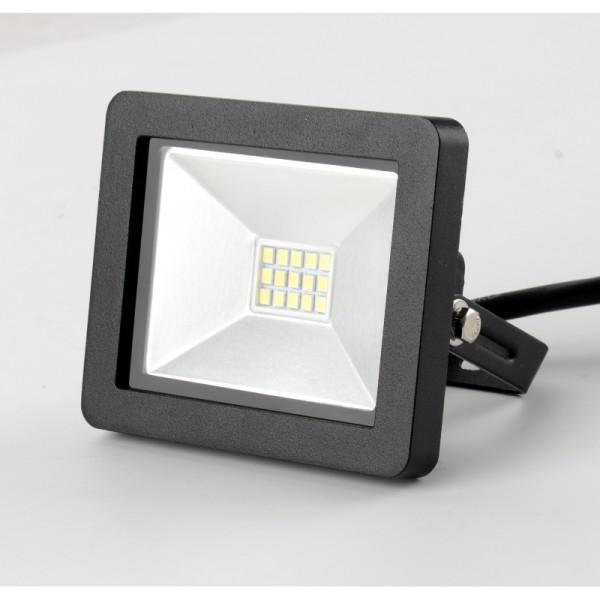 LED prožektor 10W IP65 750 lm slim