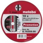 metallilõikekettad inox metabo 1mm