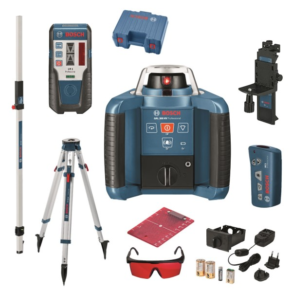 Bosch-GRL-300-HV-lasernivell-komplekt