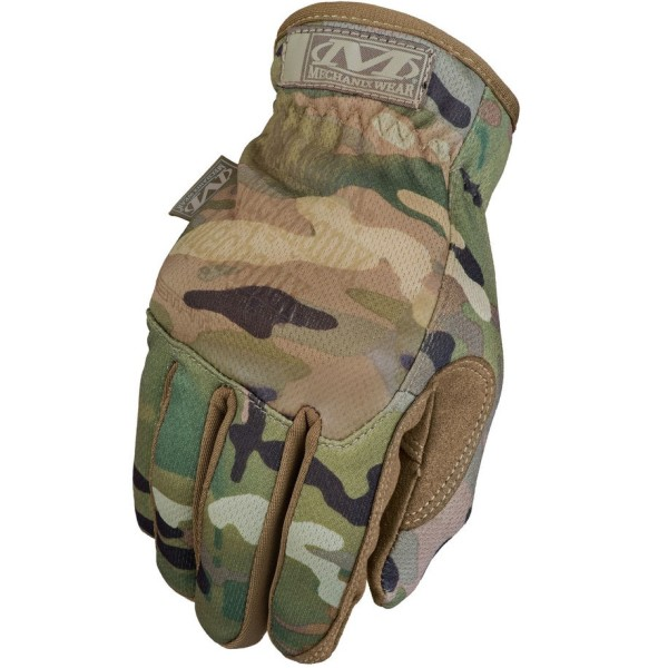 Camo Taktikalised kindad Mechanix FastFit MultiCam