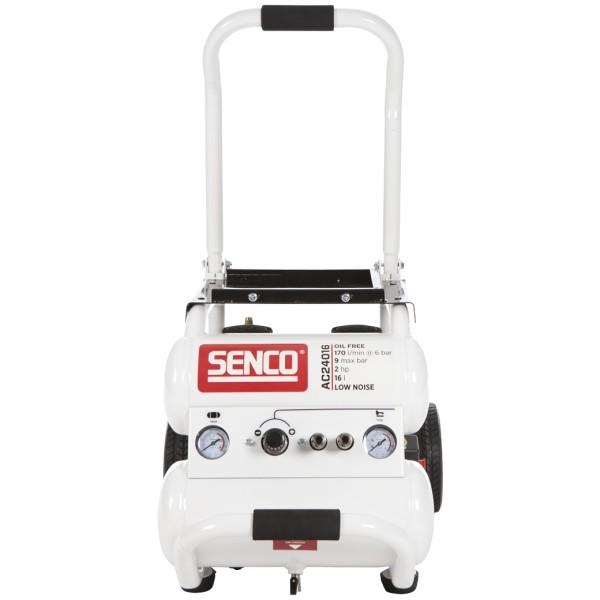 Vaikne õlivaba kompressor Senco AC24016
