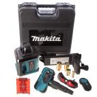 Makita SKR200Z lasernivell poordlaseri komplekt