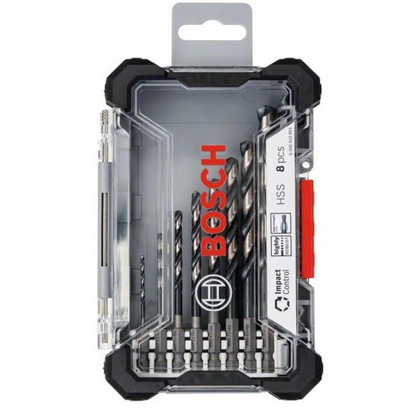 metallipuuride komplekt Bosch Impact Control HSS HEX