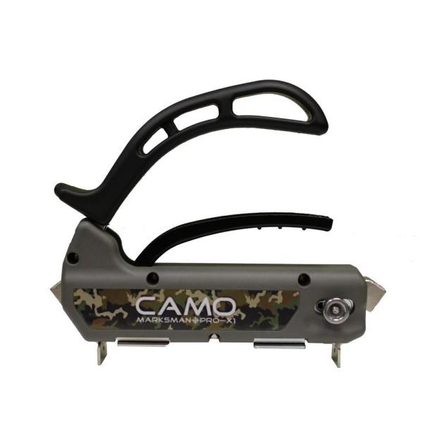 camo-marksman-x1 terrassilaua paigaldus rakis