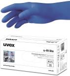 puudrivabad nitriilkindad uvex u-fit lite