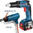 Akulindikruvikeetaja Bosch GSR 18 V-EC TE + MA 55