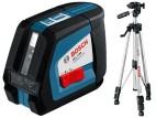 Ristjoonlaser Bosch GLL 2-50 + statiiv BS 150