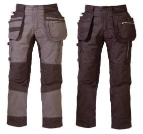 f8eea6b0065 Stretšriidega ripptaskutega vööpüksid Björnkläder Carpenter Nordic