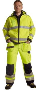 Kõrgnähtav helkuritega fliisjakk Björnkläder 925
